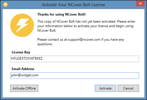 Support | Getting Started with NCover Visual Studio Extension